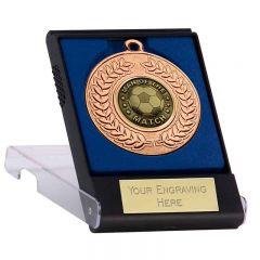 Man Of The Match Medal /& Ribbon Engraved Football School Club Award Trophy 50mm
