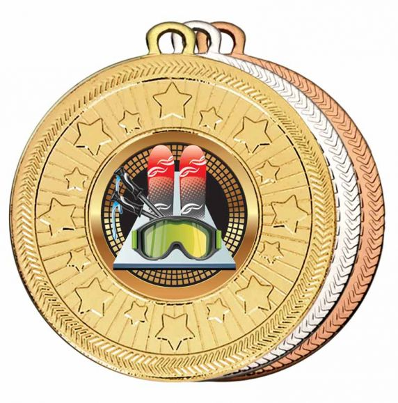 Skiing Medals- View All
