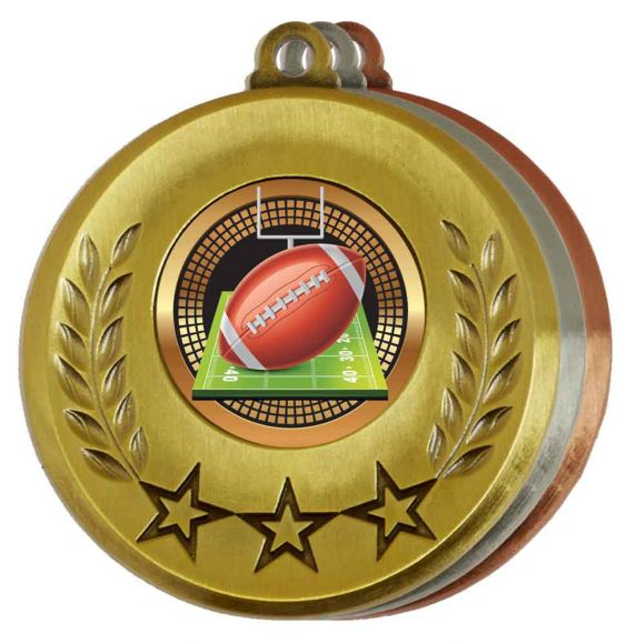 American Football Medals- View All