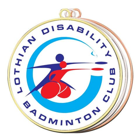 Badminton Medals- Your Logo