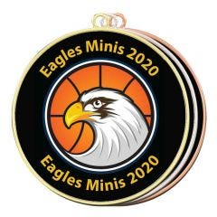 Basketball Medals- Your Logo