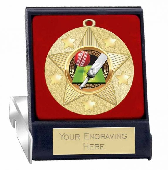 Cricket Boxed Medals