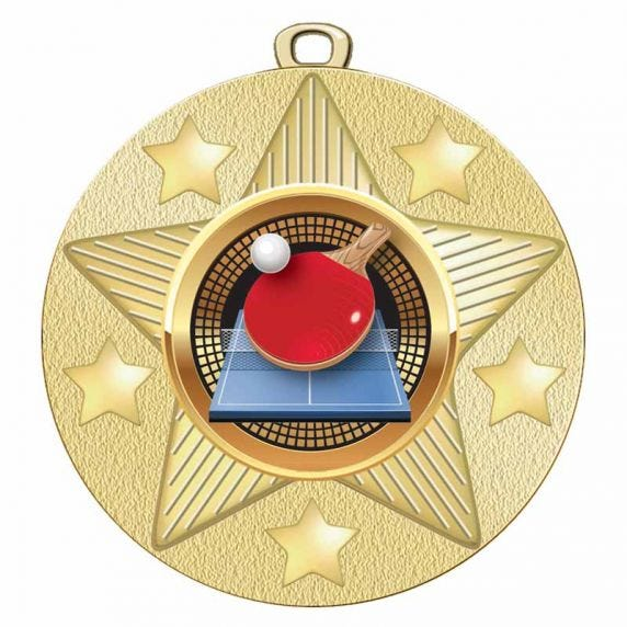 Table Tennis Medals- View All
